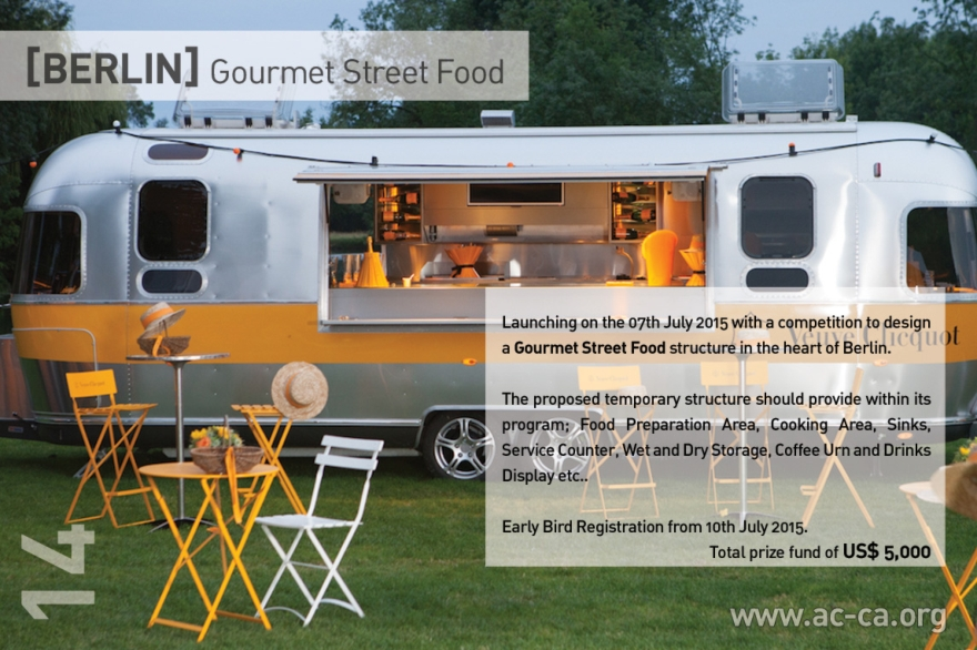 [BERLIN] Gourmet Street Food architectural competition