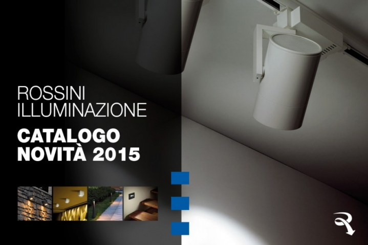 Catalog news Rossini lighting 2015