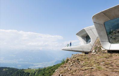 zaha hadid Messner Muntain Museum