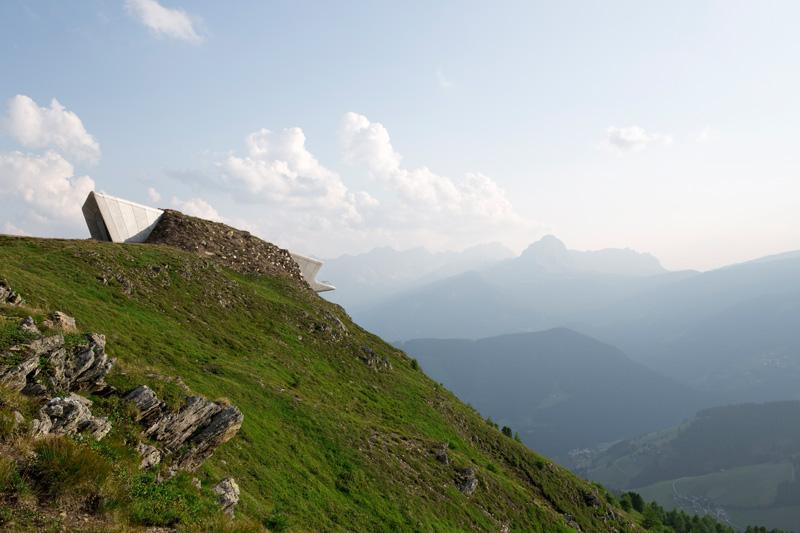 Zaha Hadid Messner Museo Muntain