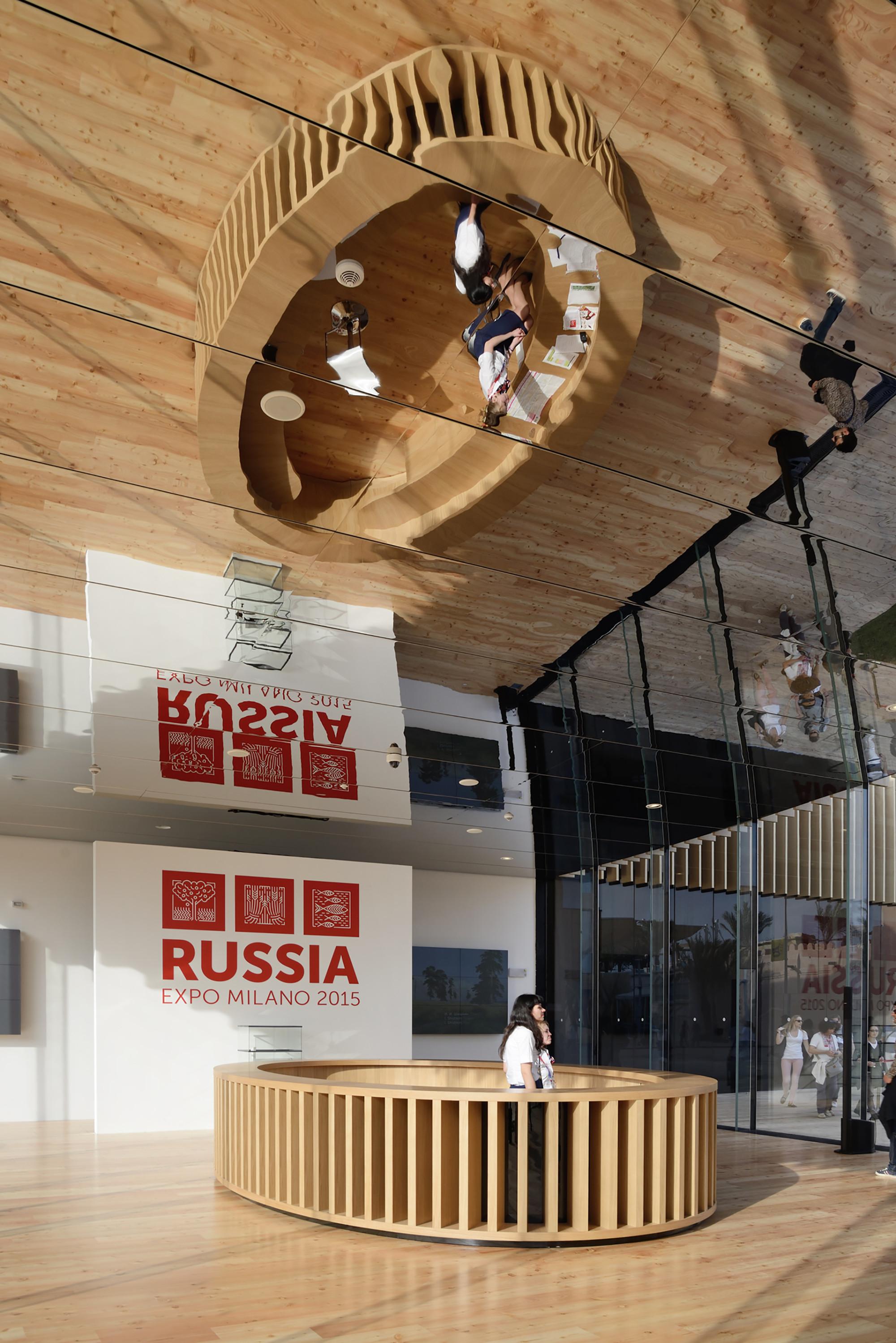 Russland Pavillon Expo Milano 2015