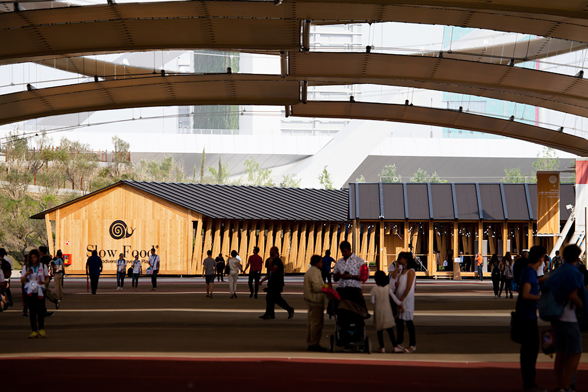 Slow Food Milan Expo Pavilion 2015