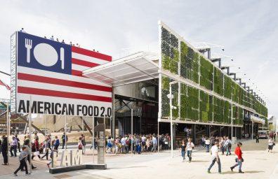 Μιλάνο Expo Pavilion Ηνωμένες Πολιτείες 2015