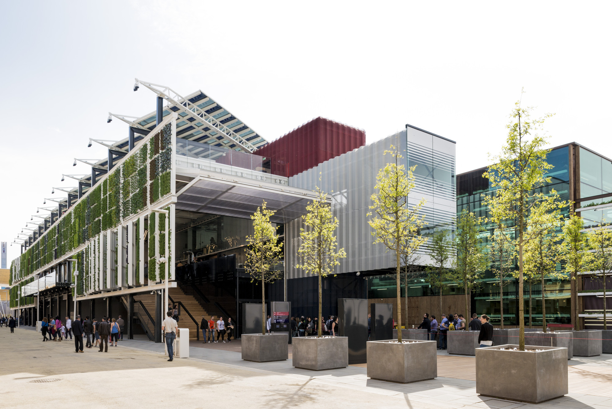 Pavilion Estados Unidos Milan Expo 2015