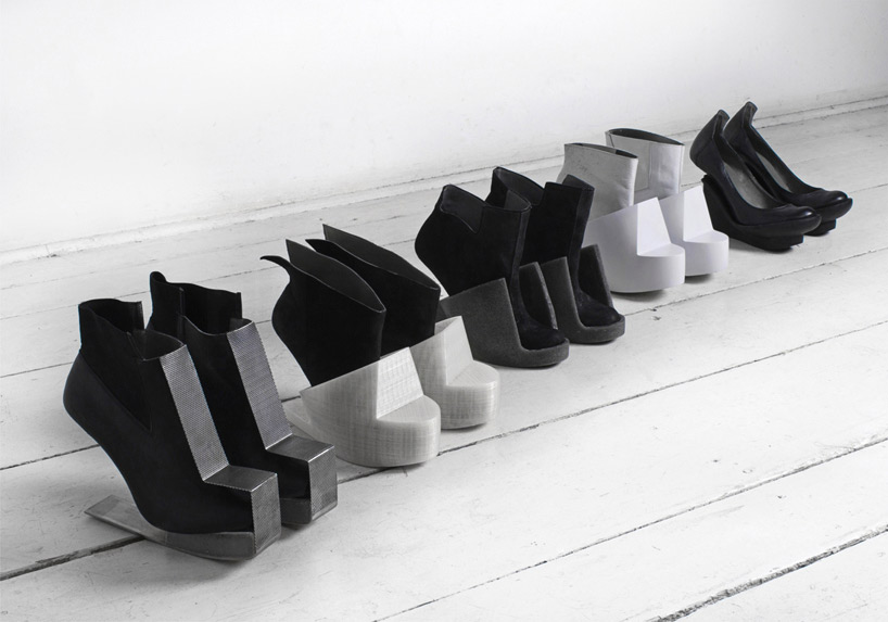 Zapatos de las mujeres conceptual Iga Węglińska