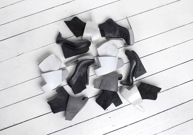 sapatos femininos conceitual Iga Węglińska