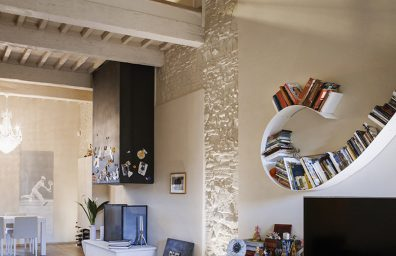 Home renovation in a historic palace in Lucca