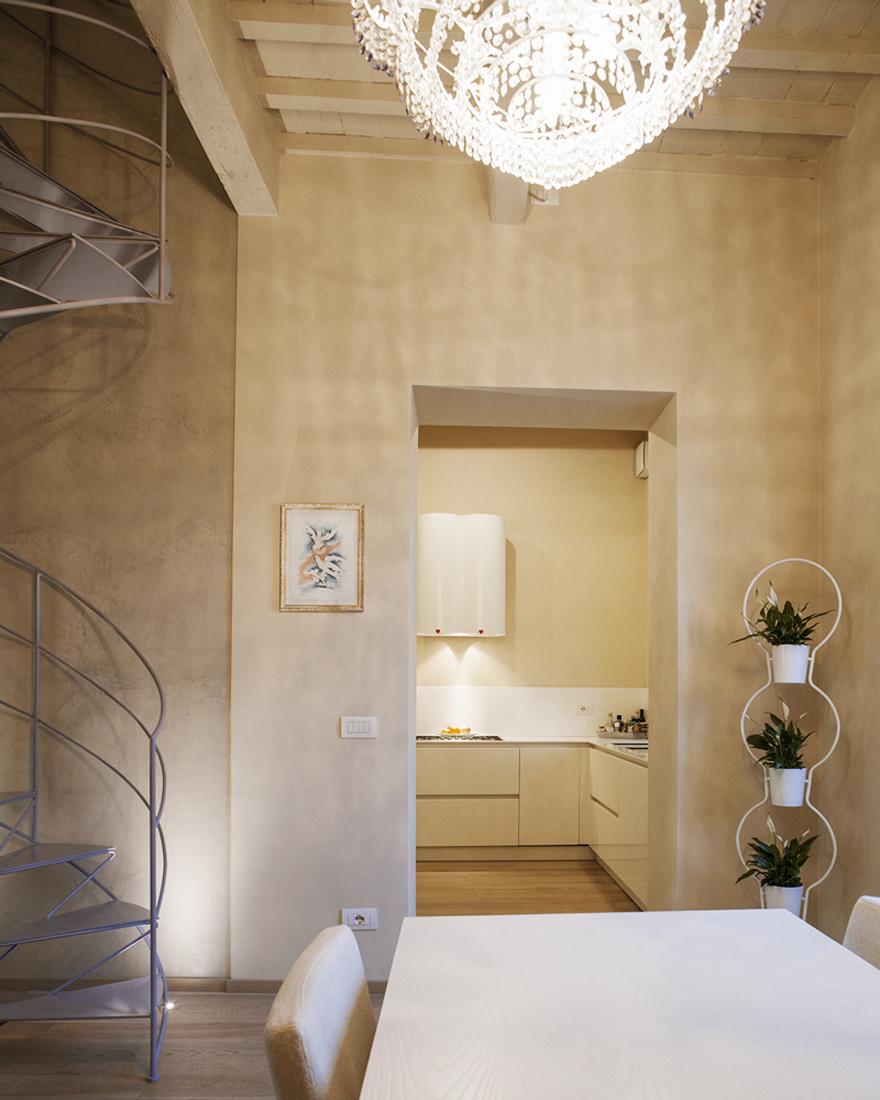 Ristrutturazione casa all'interno di un palazzo storico di Lucca