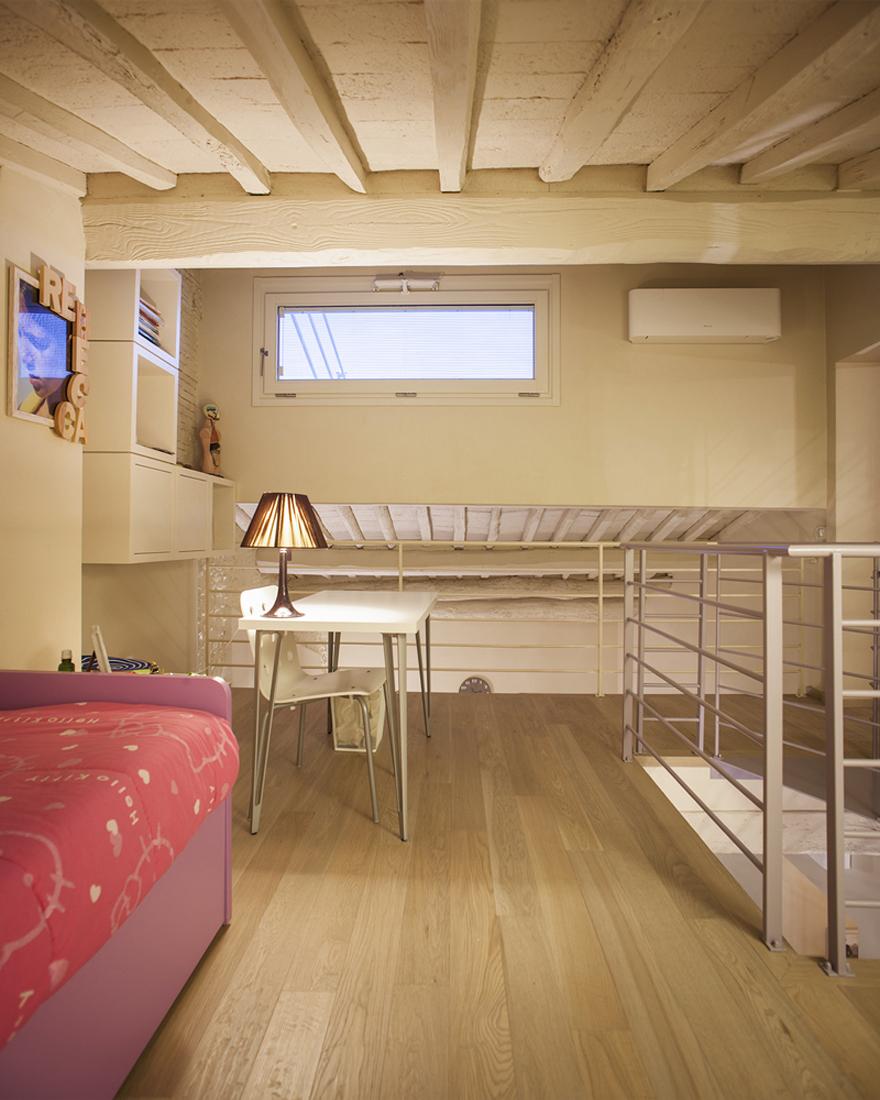 Ristrutturazione appartamento all'interno di un palazzo storico di Lucca