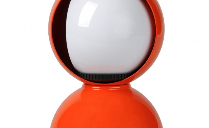 Lampada-da-tavolo-ECLISSE-Arancione-ARTEMIDE-Vico-Magistretti