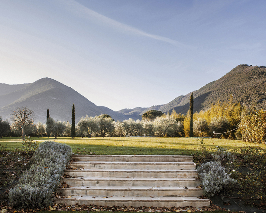 Rodeada pela natureza da Toscana