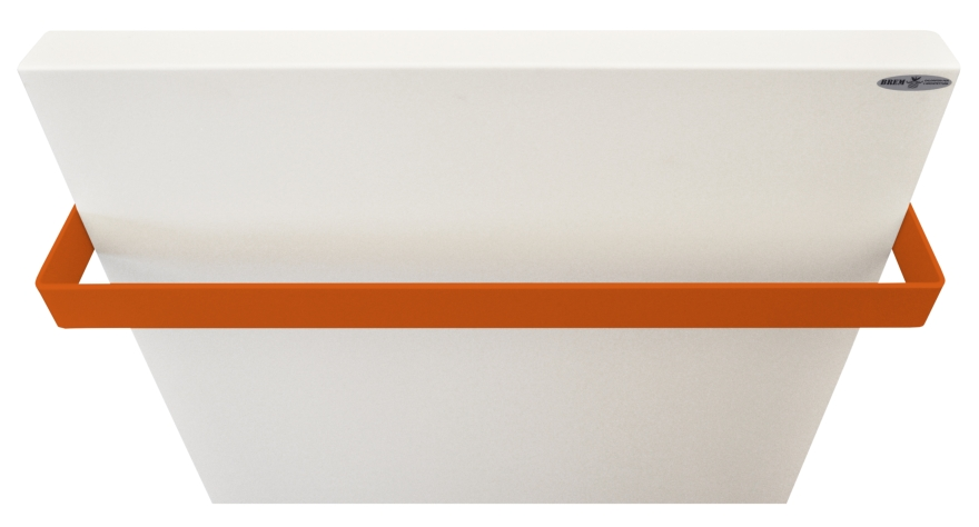 Brem Uni-lam blanc orange