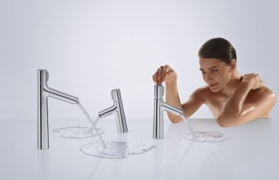 Hansgrohe Talis S Select is available in different heights according to use