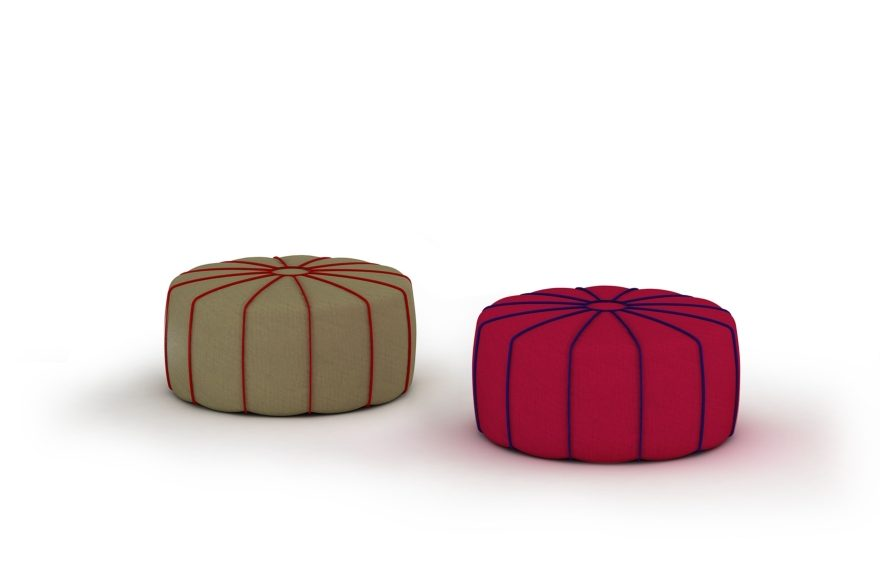 MY home collection Marrakech Pouf