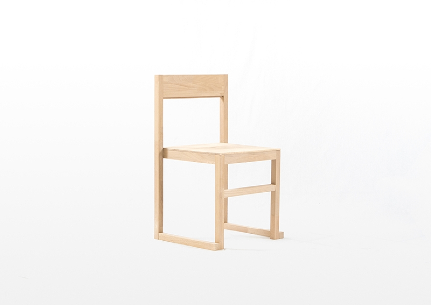RJR stackable chair, design by Mario Alessiani