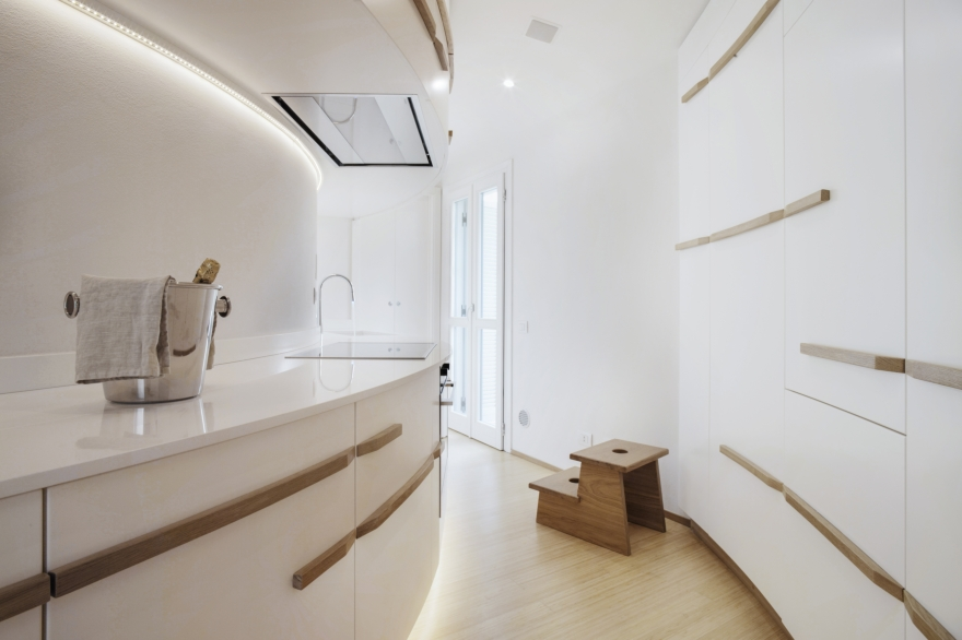 Studiòvo Cântico, Design interior de uma residência em Lucca
