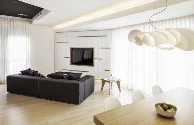 Studiòvo賛美歌、ルッカの住宅のインテリアデザイン