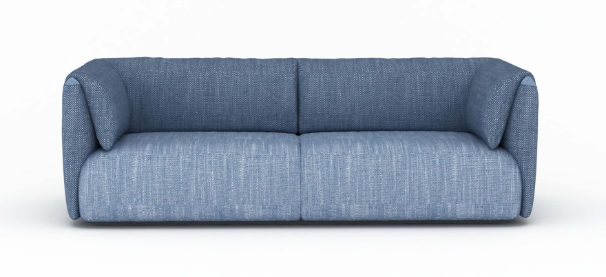 MY home collection sofa Twin set blue