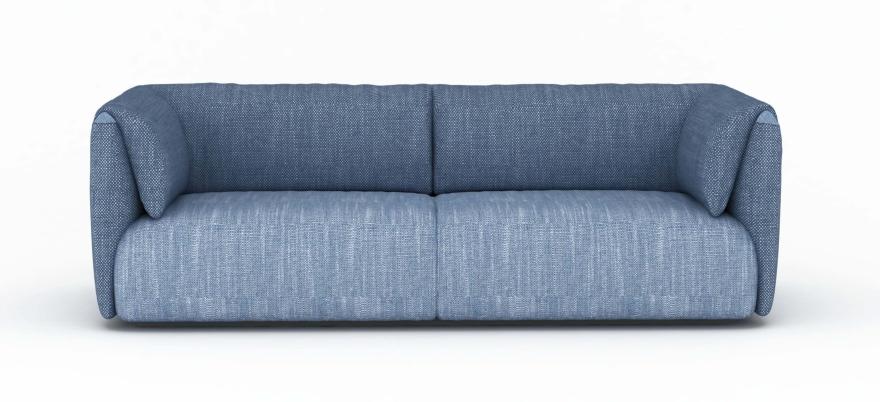 MEU sofá coleta domiciliar Twin Set azul