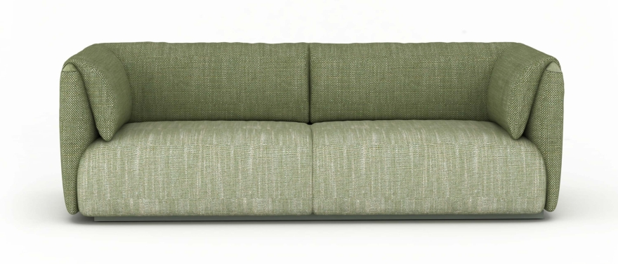 MY home collection sofa Twin set green