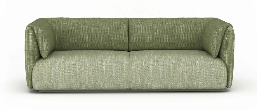MI sofá recogida domiciliaria gemelo fijó verde