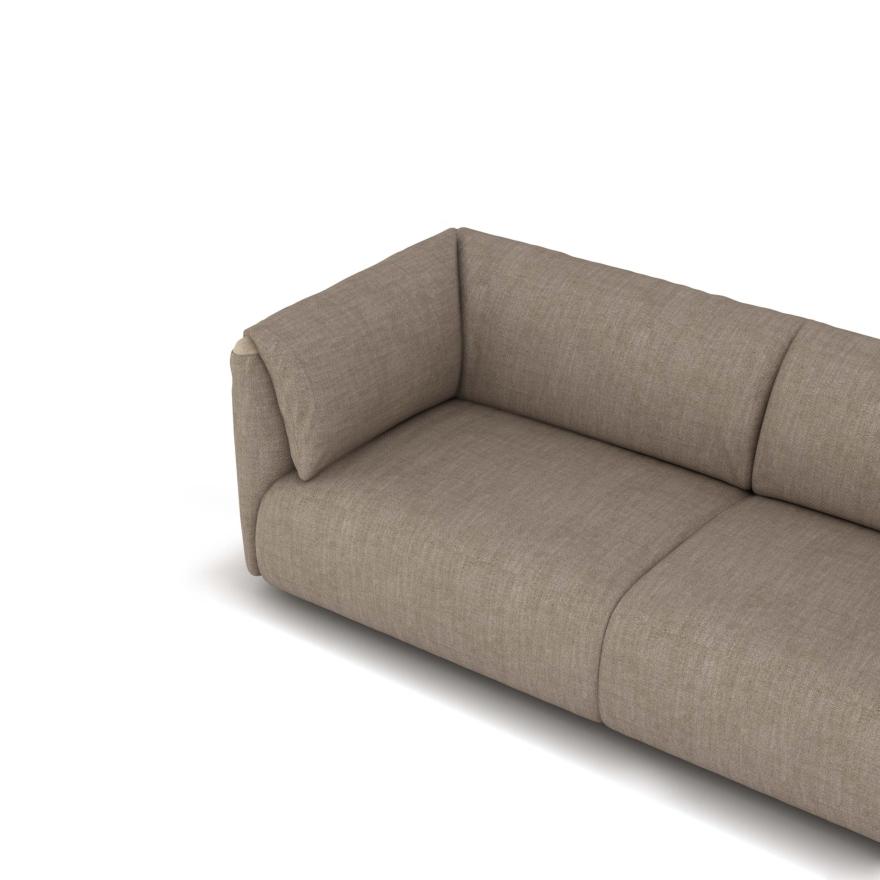 MWEN sofa koleksyon lakay Twin mete patikilye