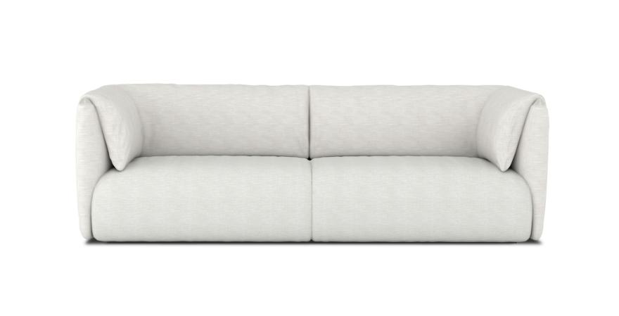 MI sofá recogida domiciliaria Doble conjunto blanco