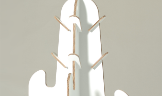 Arredi in cartone per bambini appendiabiti cactus