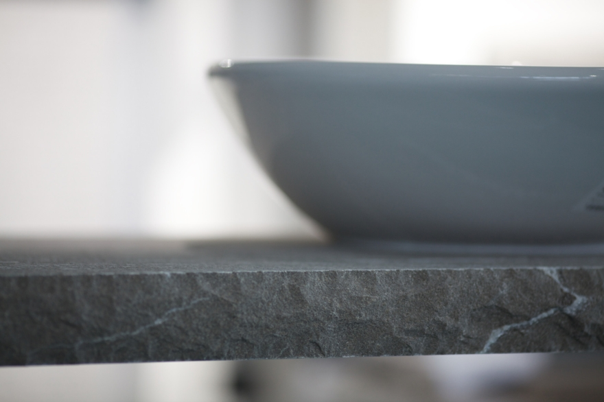 Julia Marmi AGA console port basin made of stone Piasentina