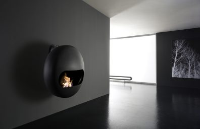 Bioethanol fireplaces or wood-burning Antrax