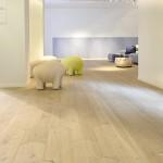 Pavimenti in legno Biscuit, Patricia Urquiola per Listone Giordano