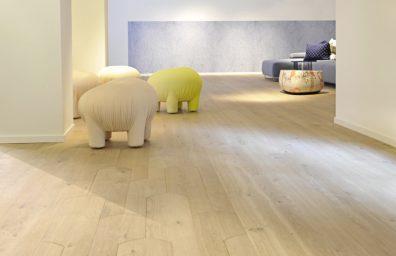 suelos de madera de la galleta, Patricia Urquiola para Listone Giordano