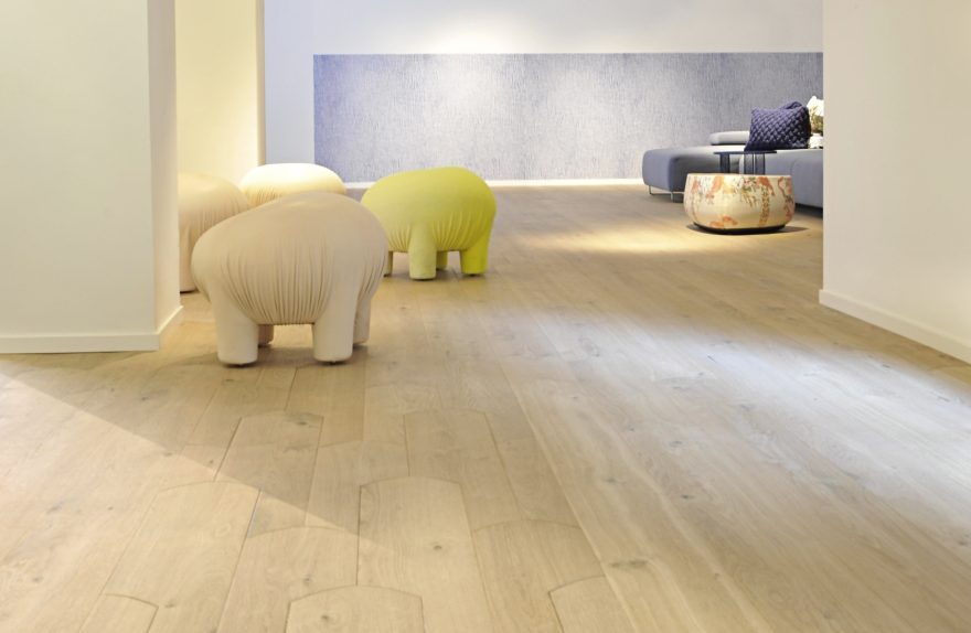 wooden floors Biscuit, Patricia Urquiola for Listone Giordano