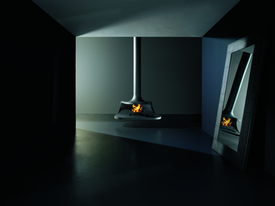 Bioethanol fireplaces or wood Antrax, model Drop