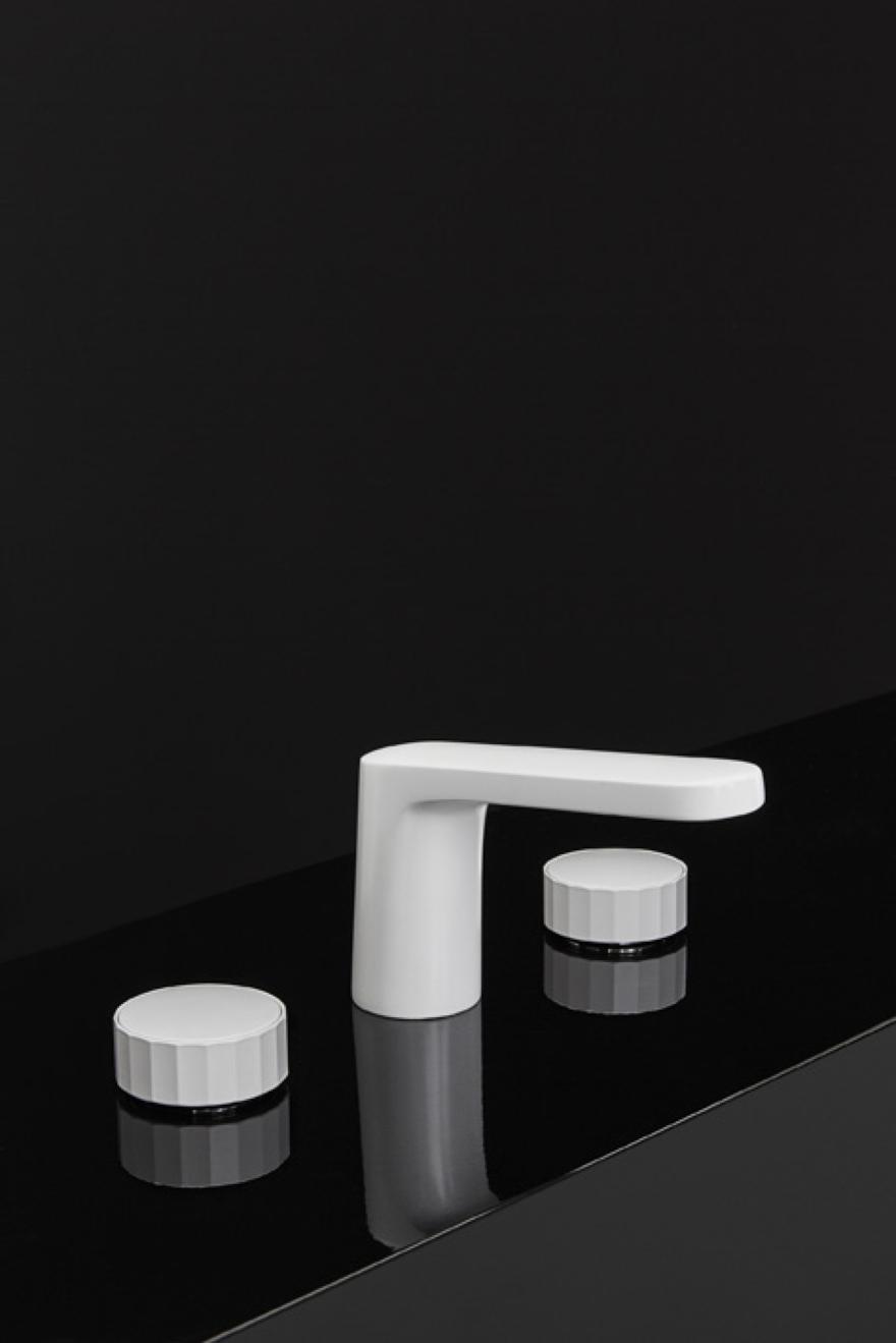 FIMA Carlo Frattini projeto de lavatório textura Meneghello Paolelli Associates
