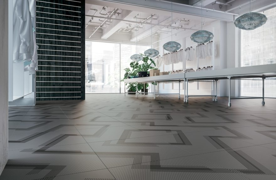 Ceramic tile Refin Labyrinth Angle