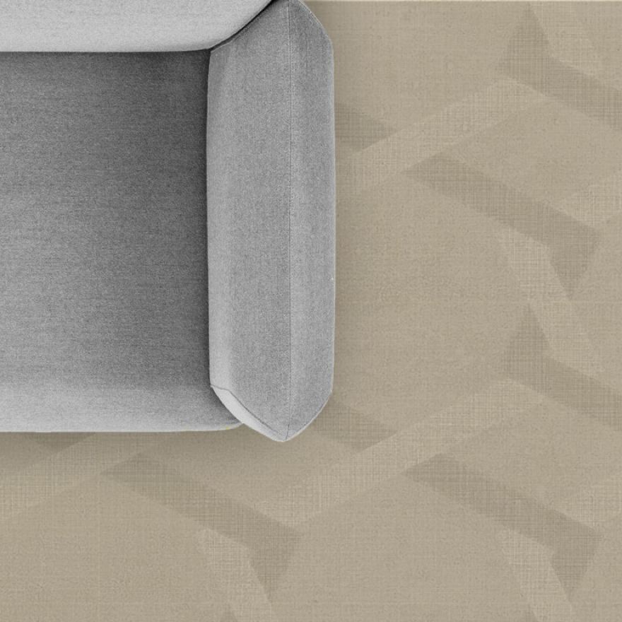 Piastrelle in ceramica Refin Labyrinth Mirror Sand