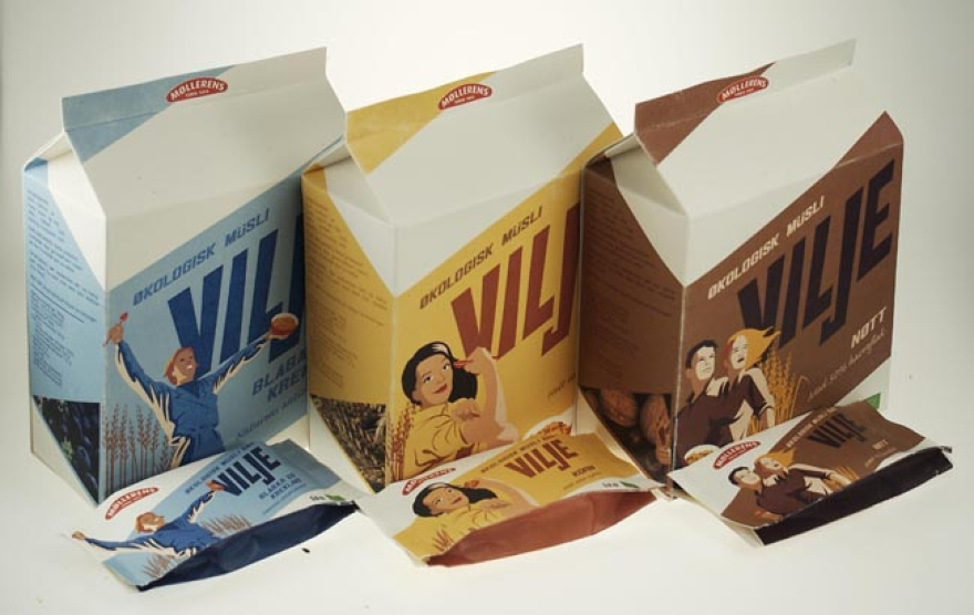 Packaging design Vilje Musli 01