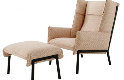 Armchair with ears Beau Fixe, Inga Sempé for Ligne Roset