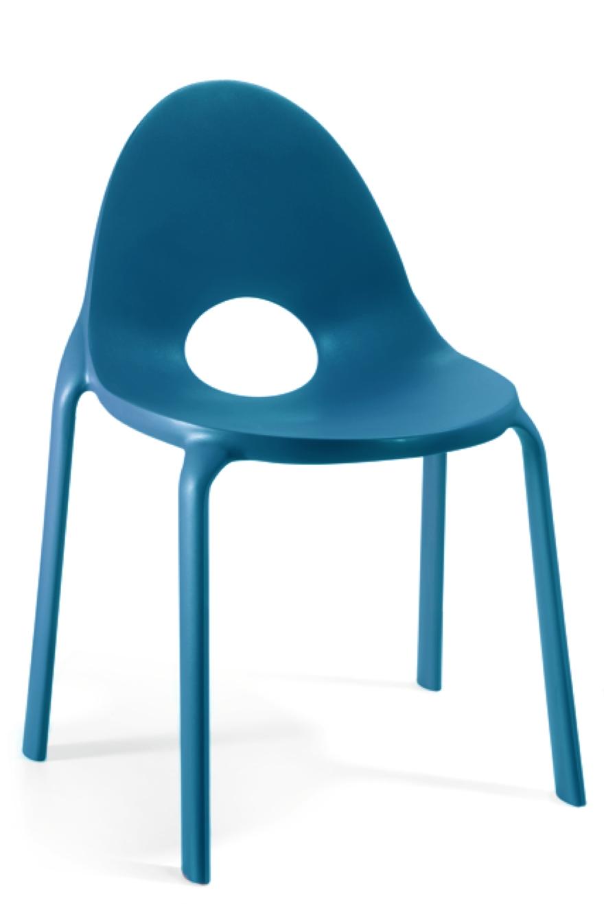 Sedia Drop blue