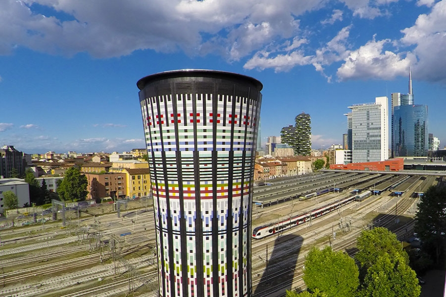 Rainbow Tower Milan socialdesignmagazine 03
