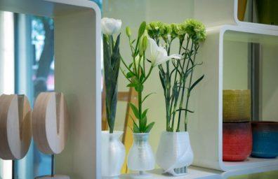vasos de flores 3d anomalias por inkinch impressa