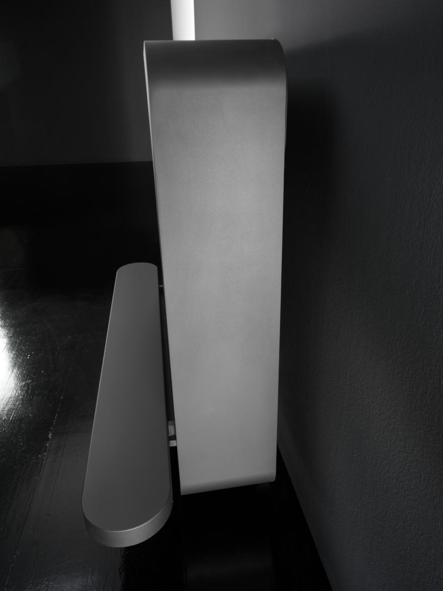 Caminetti a bioetanolo o legna Antrax, modello Wall B