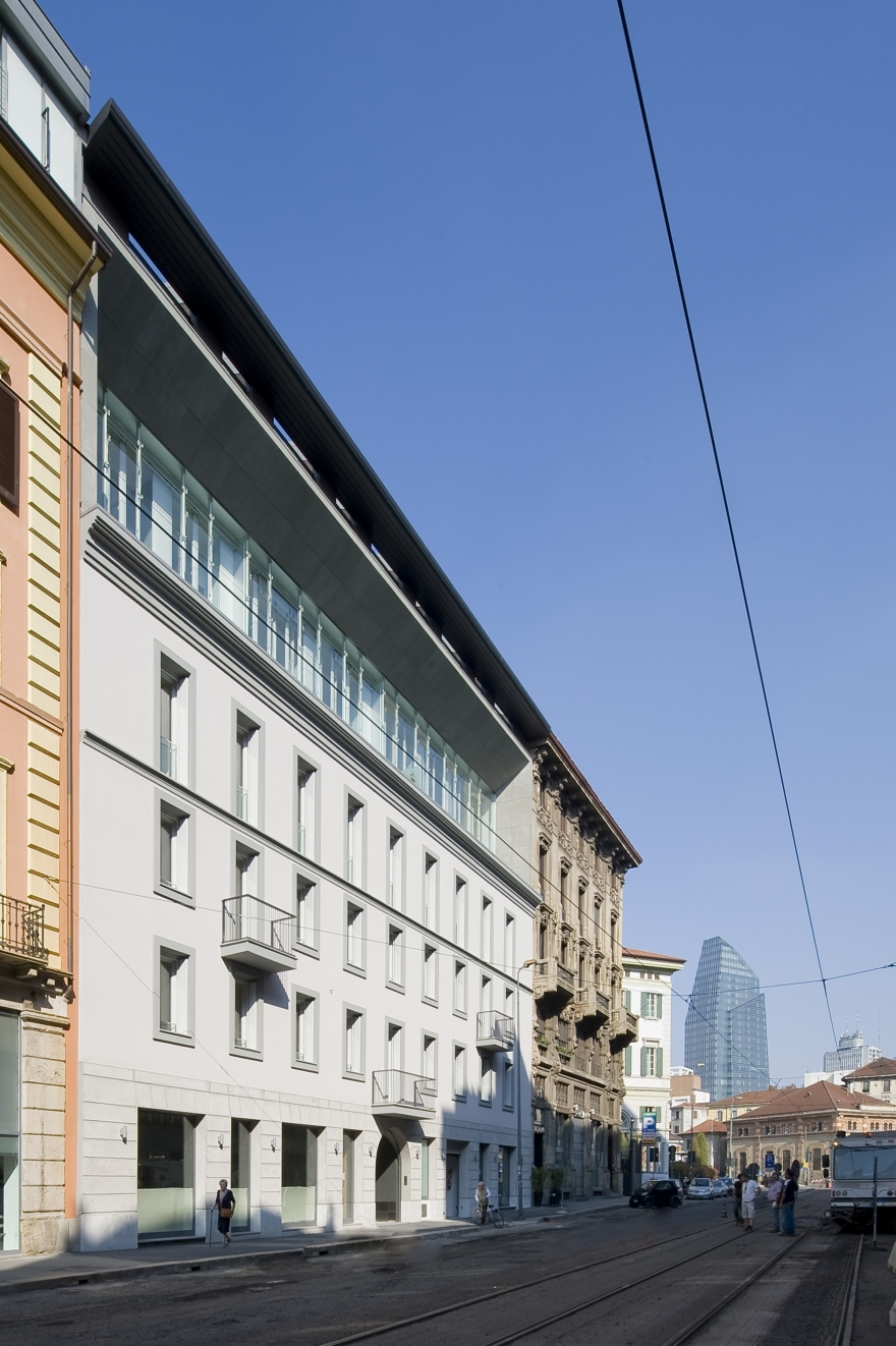 Westway Architects viale Montegrappa Milano 11