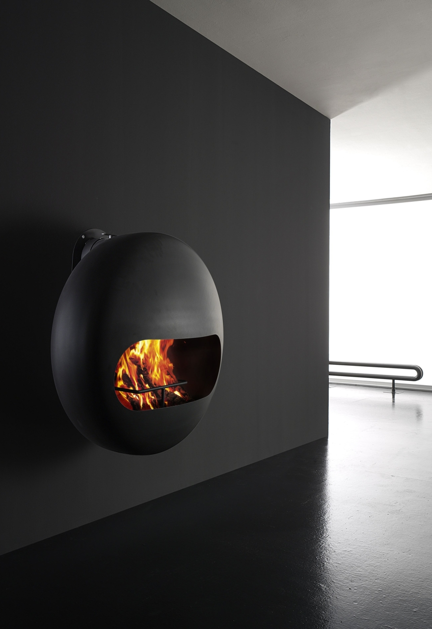 Bioethanol fireplaces or wood Antrax model Bubble