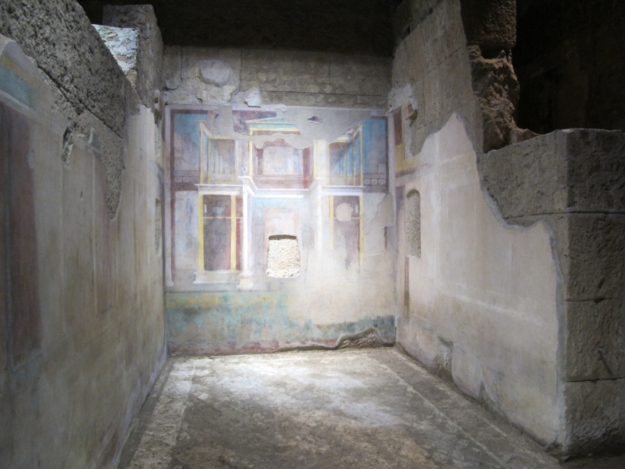 Illuminazione a led Domus Augustea