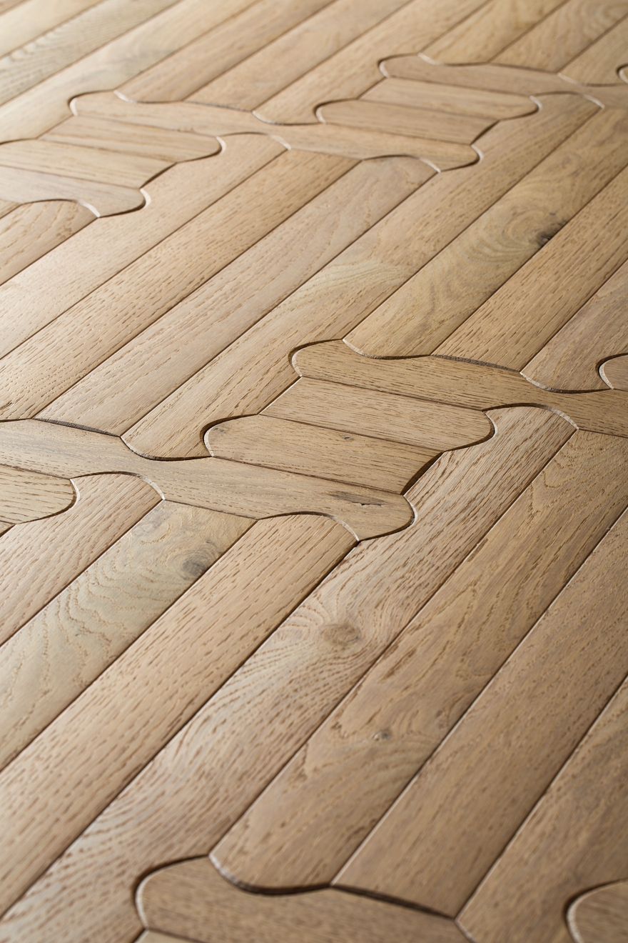 hardwood floors Listone Giordano biscuit n3 detail