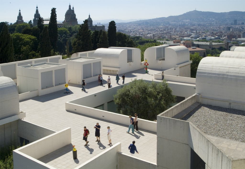 Barcelone itinéraire à la découverte de la conception, Miro