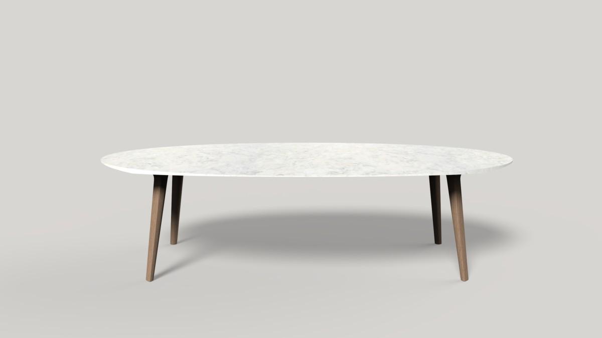 Collezione Ademar i tavoli di Giulio Iacchetti per Bross 01
