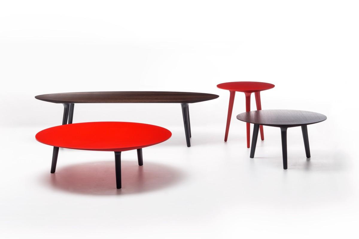 Collezione Ademar i tavoli di Giulio Iacchetti per Bross 07